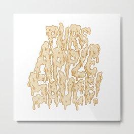 Pure Applesauce!  Metal Print
