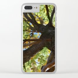 The Mighty Oak Clear iPhone Case