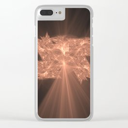 Folding Leaf On The Tree of Knowledge Clear iPhone Case