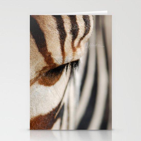 Zebra style Stationery Cards