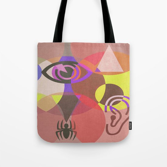 Wisdom and Fear Tote Bag