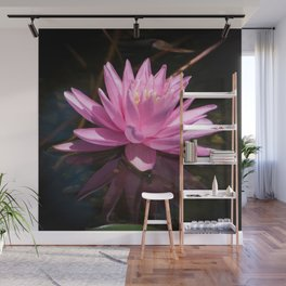 Pink Water Lily by Teresa Thompson Wall Mural