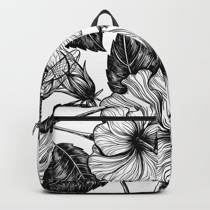 Hibiscus Flower Ii Backpack By Katerinamitkova Society6