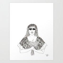 Luto Art Print