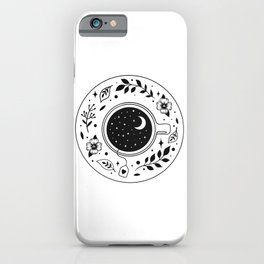 A Cup of Moonshine  iPhone Case