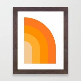 Retro 02 Framed Art Print