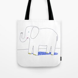 an elephant Tote Bag