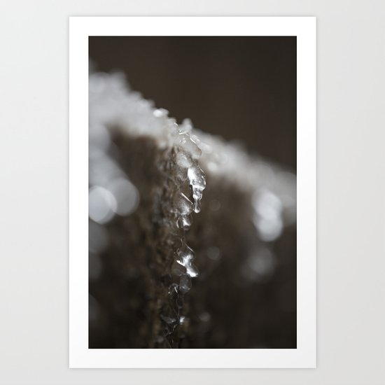 Water Droplet Art Print