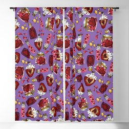 Witchy Love Potion IV Blackout Curtain