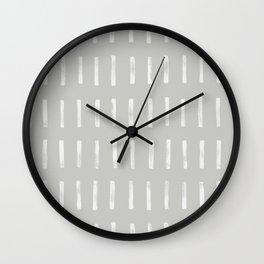dash grey Wall Clock
