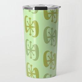 Starburst Bell Peppers Light Green Travel Mug