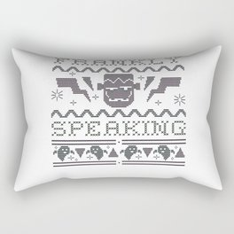 Frankly Speaking Frankenstein ASCII Rectangular Pillow
