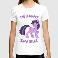 mlp T-shirts featuring MLP FiM: Twilight Sparkle by Yiji