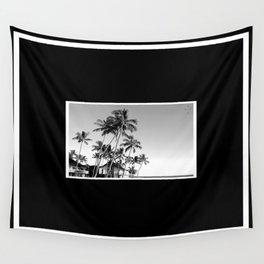 Palm Trees Poipu Wall Tapestry