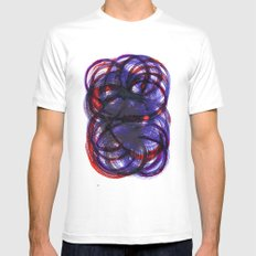 Intertwined Mens Fitted Tee White MEDIUM