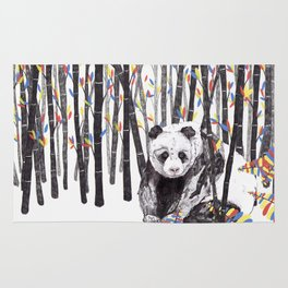 Panda Bear // Endangered Animals Rug