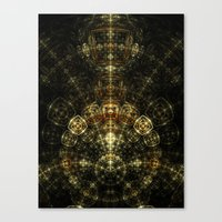 matrix Canvas Prints featuring Matrix by Eli Vokounova