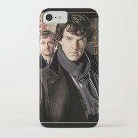 sherlock iPhone & iPod Cases featuring Sherlock  by SB Art Productions