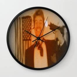 Death of John Wilkes Booth Wall Clock