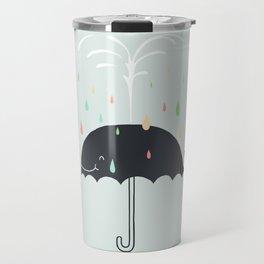 Happy Rainy Day Travel Mug