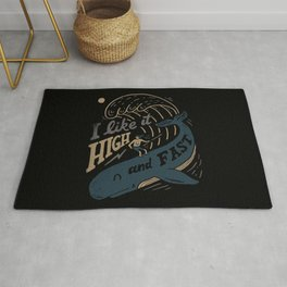 High and Fast Rug