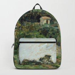 "Paul Cezanne ""Landscape"", c.1879 Backpack"