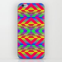 psychedelic iPhone & iPod Skins featuring Psychedelic by Texture