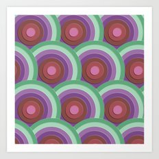 concentric Art Print