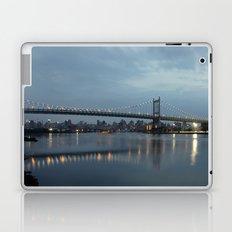 Triborough Bridge at Night. Laptop & iPad Skin