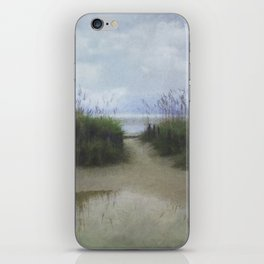 Morning at Tybee iPhone Skin