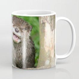 Smiling Otter Coffee Mug