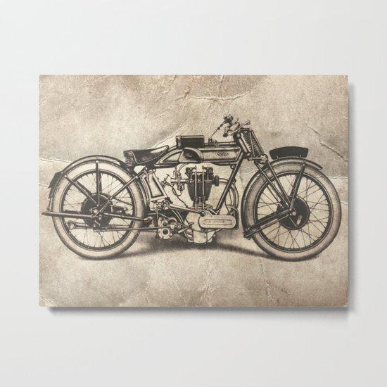 Norton Motorcycles Metal Print