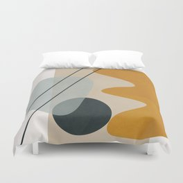 Abstract Shapes No.27 Duvet Cover