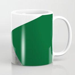 Concrete Festive Green White Coffee Mug