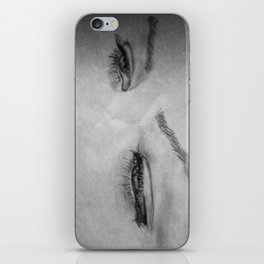 What does she see? iPhone Skin