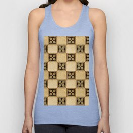 Granite mosaic floor design Unisex Tank Top