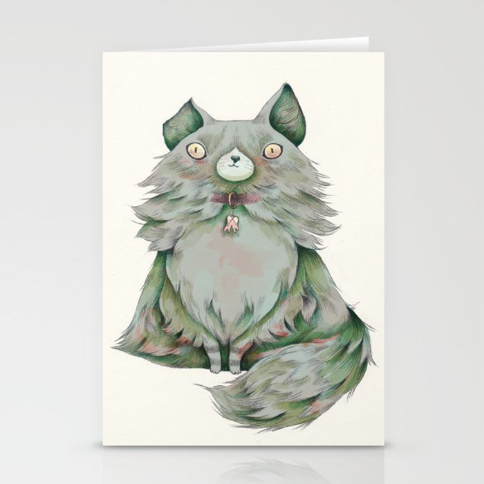 brume color Stationery Cards