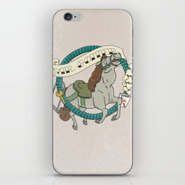 Mr. Goiter iPhone Skin