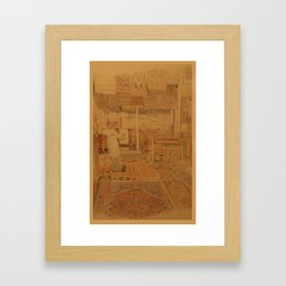 Carpets Framed Art Print