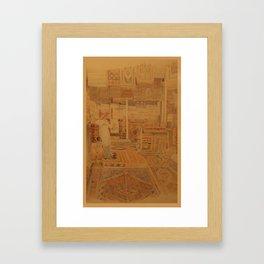 Carpets Framed Art Print