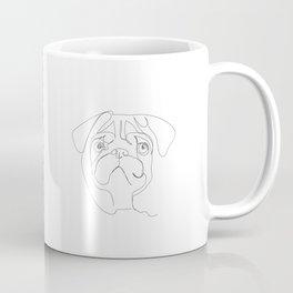 continuous pug Coffee Mug