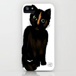 Elysis the cat iPhone Case