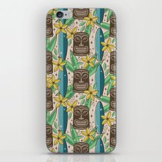 Tiki Garden iPhone Skin
