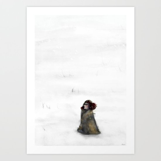 Waste for the Journey Art Print