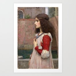John William Waterhouse - Juliet Art Print