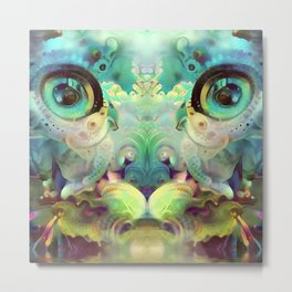 Catnip Sky Dream (Electric Catnip) Metal Print