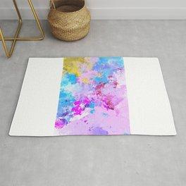 Abstract,colourful,bright,modern art decor  Rug