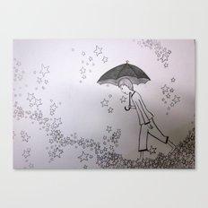 Walking on Stars Canvas Print