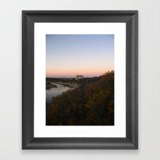 6:45PM Framed Art Print