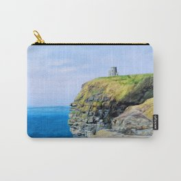 O'Brien's Tower on The Cliffs of Moher Carry-All Pouch